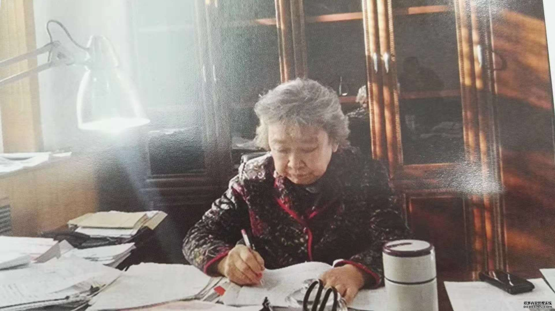 唐桂莲会长10月8日在收看太原电视台对公司晋源区政府采购项目的报道后写的一段寄语