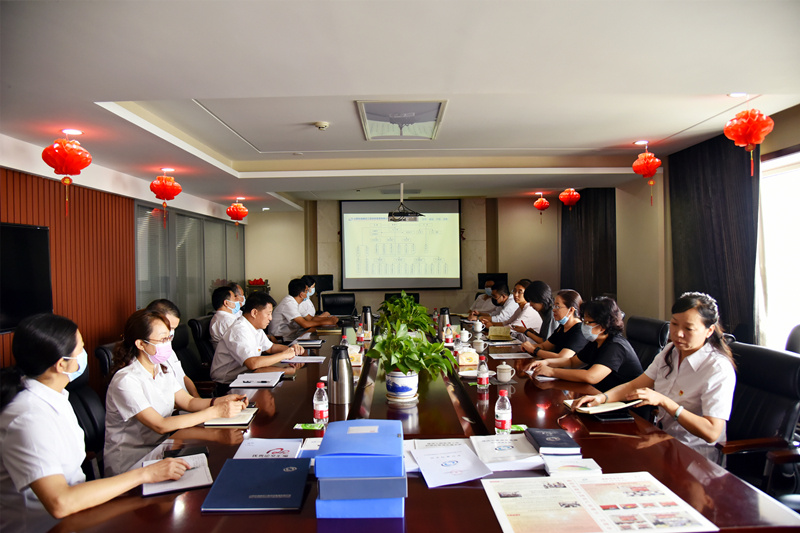 太原市建设工程质量安全站到公司进行专项检查