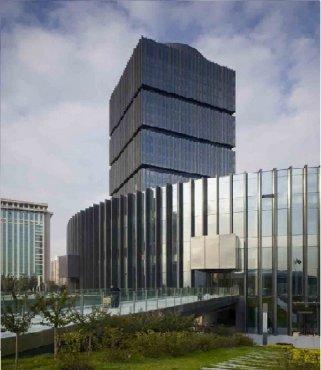 中国(太原)煤炭交易中心综合交易大楼